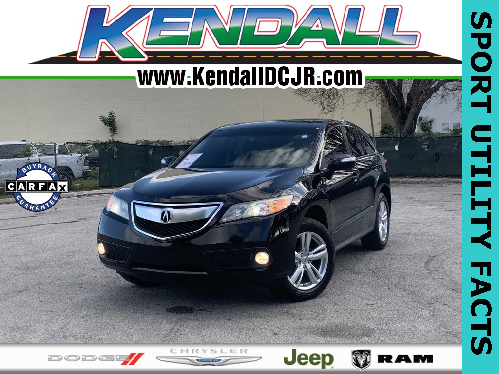Pre-Owned 2015 Acura RDX Technology Package