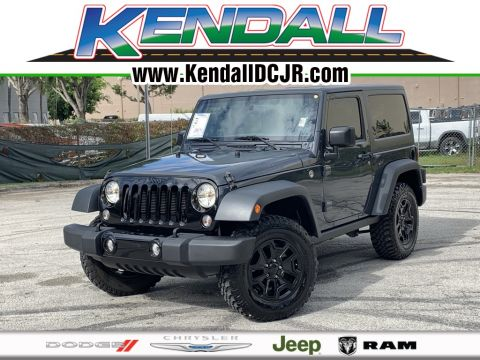 Certified Pre-Owned 2016 Jeep Wrangler Willys Wheeler
